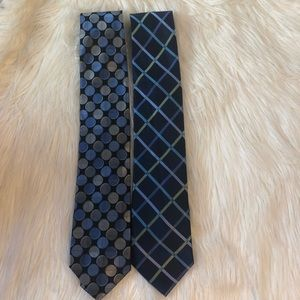 2 NEW MICHAEL KORS 100% SILK TIES